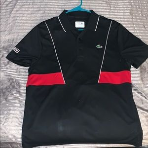 New w/o tags Lacoste sport polo